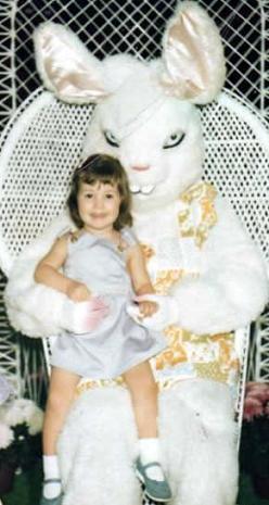 Isn't The Bunny Cute Daddy