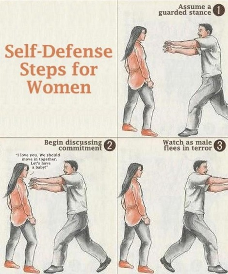 Self Defense Any Women Can Do
