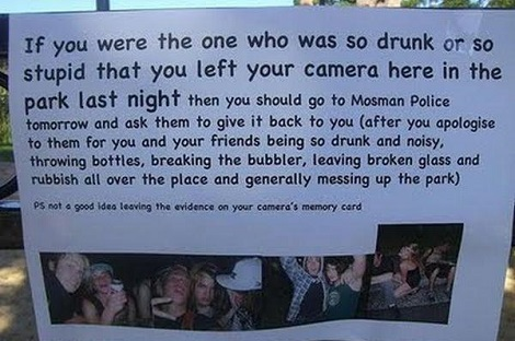 That Couldn't Have Been Me I'm Much Smarter When I'm Drunk