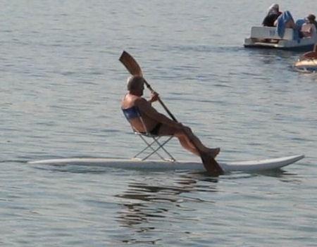 Lazy Surfer