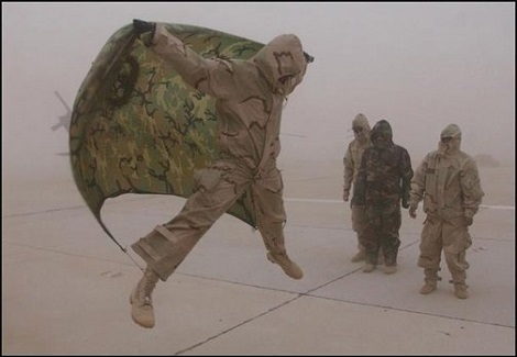 Who Says Sand Storms Can't Be Fun!