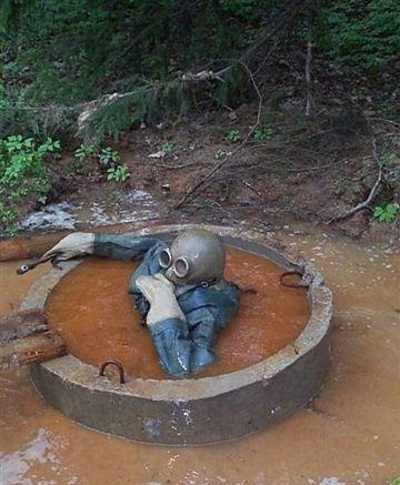 Worlds Worst Job - Septic Tank Diver