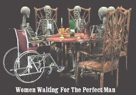 Men Aren't Waiting They Know Women Aren't Perfect
