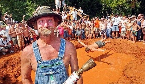 Welcome To The Red Neck Festival Ya All!
