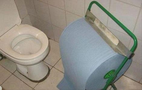 A Taco Bell Bathroom
