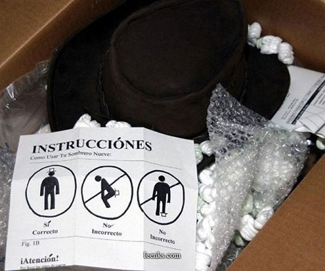 If There Stupid Enough To Need The Instructions, How Did They Get The Box Open