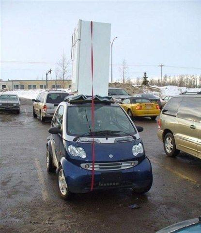 Don't Worry I'm Sure It Won't Fall Off...DUMBASS!!!
