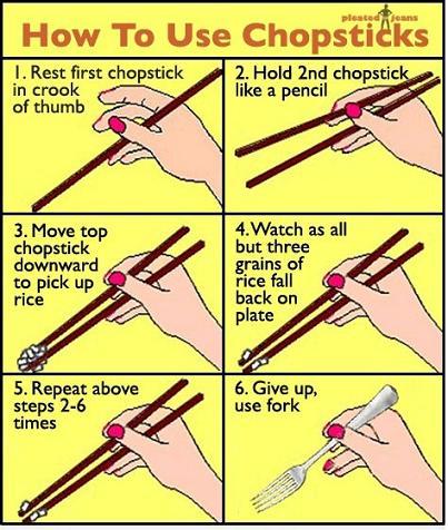 Chopsticks For Dummies