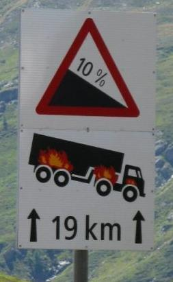 But Driving On a Flat Road When Your Trucks On Fire Is Ok