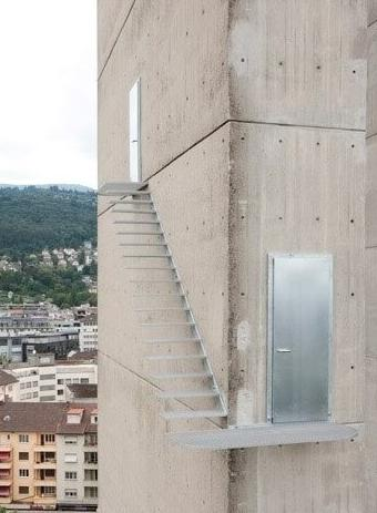 I Don't THink This Is What They Ment When They Said They Wanted A Stairway With A View