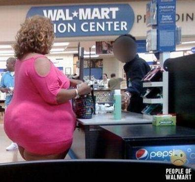 WalMart...The Store With Low Prices And Fat People