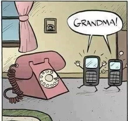 Grandma Hell! Now I Feel Old