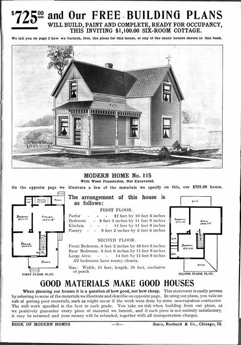 You Can't Buy A Home For 10 Times That Much Money Thats Half As Good I Miss The Sears Catalog