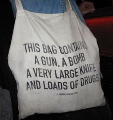 I Smugled Drugs For Years In This Bag And The Cops Never Touched Me