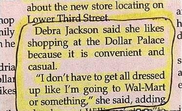 Who Says Rednecks Aren't Fashion Conscious