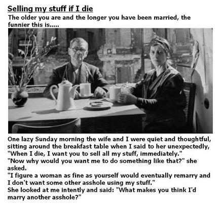 Honey Don't Sell My Stuff!
