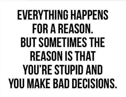 That's A Pretty Good Reason