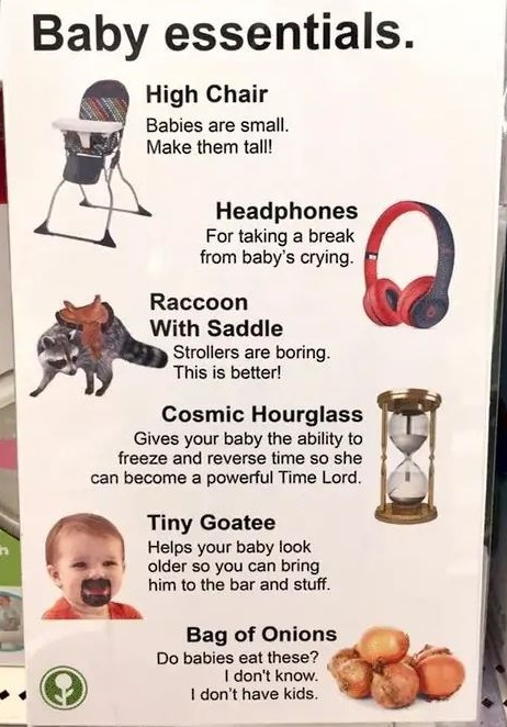 What are your child necessities