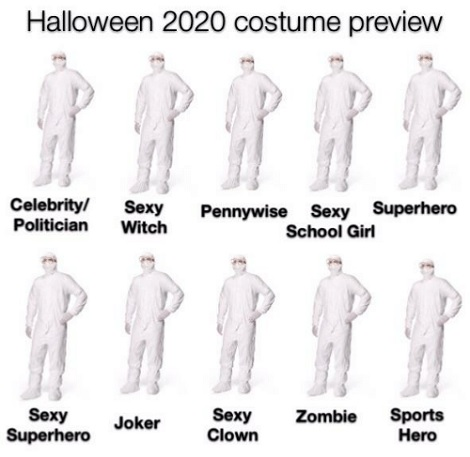 Fortunelty There Aren't Any Holloween Parties To Go To So No One Will See It