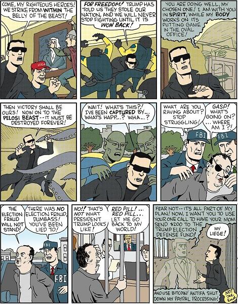 The MAGA Matrix Reality Is Fake News