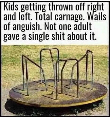Ah The Good Old Days!