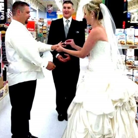By The Power Vested In Me By This Walmart Store, I Now Pronounce You Man And Wife