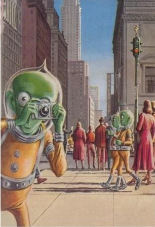 Damn Alien Turists