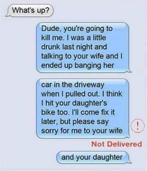 Multiple Texts Can Be Hazardous To Your Health